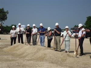 Morgans Point Resort groundbreaking ceremony